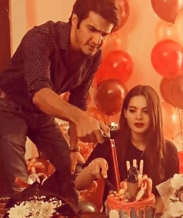 minal khan birthday ahsan mohsin ikram