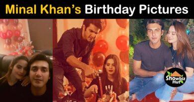 minal khan birthday ahsan mohsin