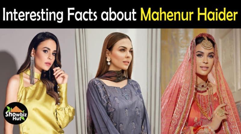 Mahenur Haider Biography