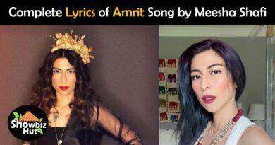 amrit meesha shafi lyrics