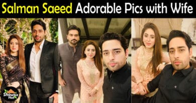 Salman Saeed actor wife