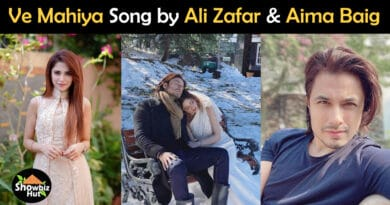 ve mahiya ali zafar song lyrics