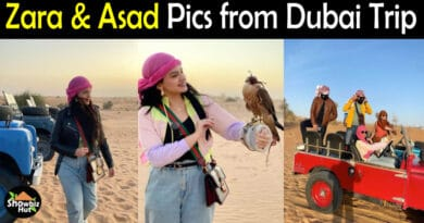 Zara and Asad Dubai Pics