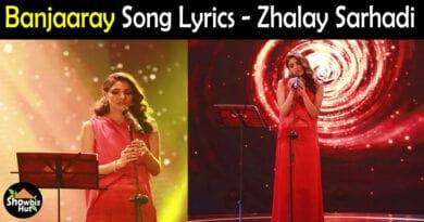 Banjaaray Zhalay Sarhadi lyrics