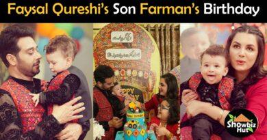 faysal qureshi son birthday pics