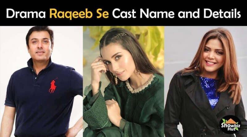 raqeeb se drama cast name