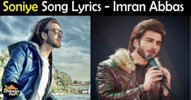 Soniye Imran Abbas Lyrics