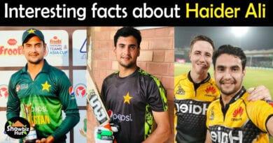 Haider Ali Cricketer Biography