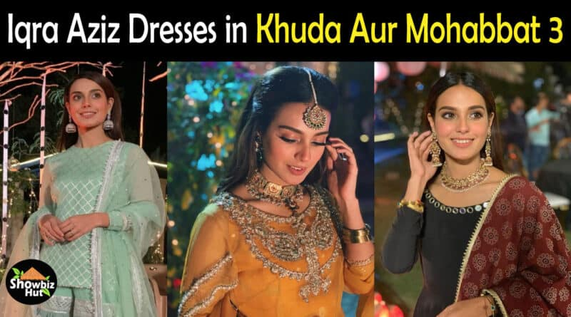 Iqra Aziz Dress Khuda Aur Mohabbat 3