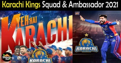 Karachi Kings Squad 2021