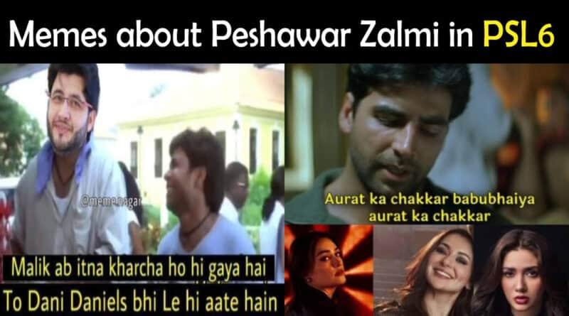Peshawar Zalmi Memes PSL 6