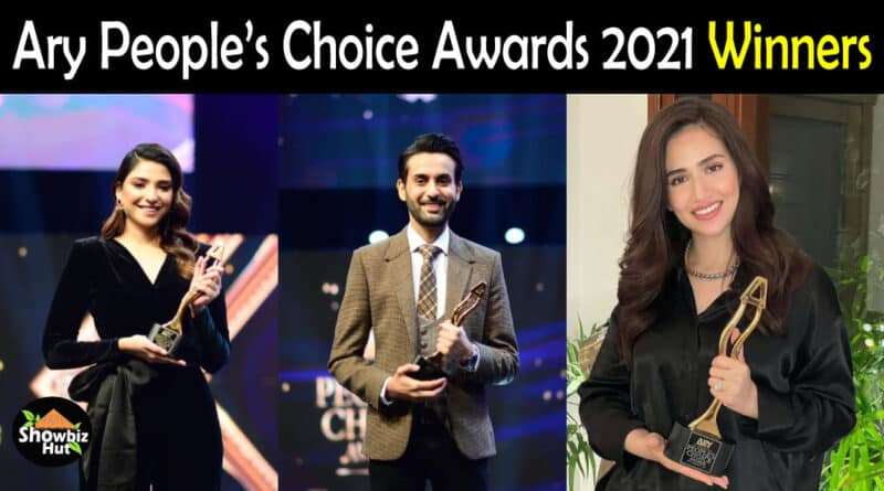 Ary People's Choice Awards 2021 Winners