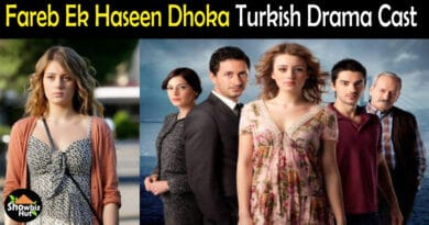Fareb Ek Haseen Dhoka Turkish Drama Cast
