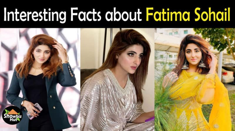 Fatima Sohail Biography