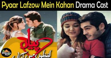 Pyaar Lafzon Mein Kahan Drama Cast