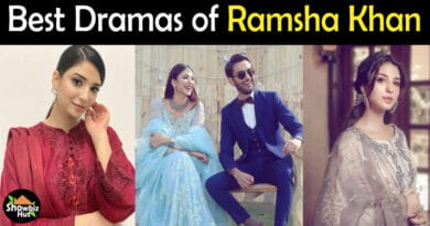 Ramsha Khan drama list