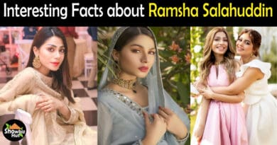 Ramsha Salahuddin Biography