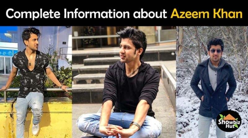 azeem khan biography age