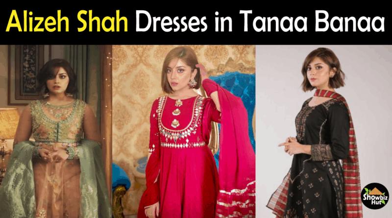 Alizeh Shah dresses in Tana Bana