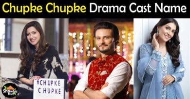 Chupke Chupke Drama Cast Name