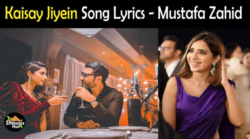 Kaisay Jiyein Mustafa Zahid lyrics