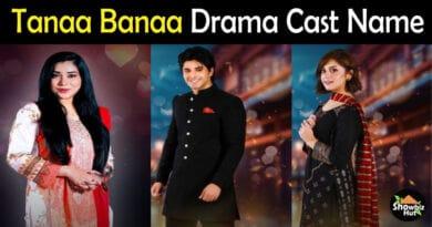 Tanaa Banaa Drama Cast Name
