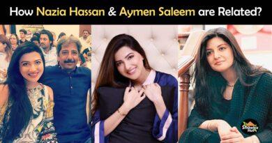 aymen saleem and nazia hassan relationship