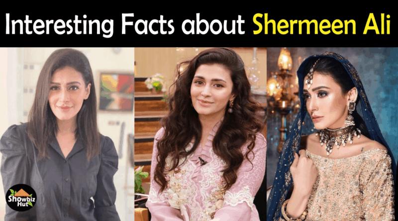 Sharmeen Ali Biography