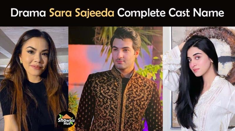 sara sajeeda drama cast name