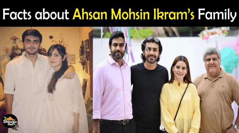 Ahsan Mohsin Ikram Family
