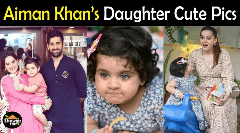 Aiman Khan Daughter New Pics