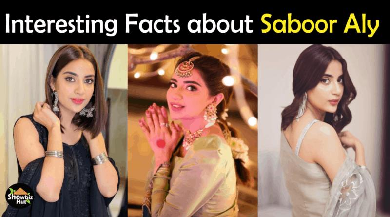 Saboor Ali Biography
