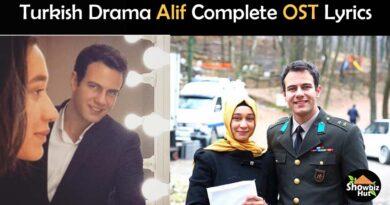 alif ost lyrics turkish drama