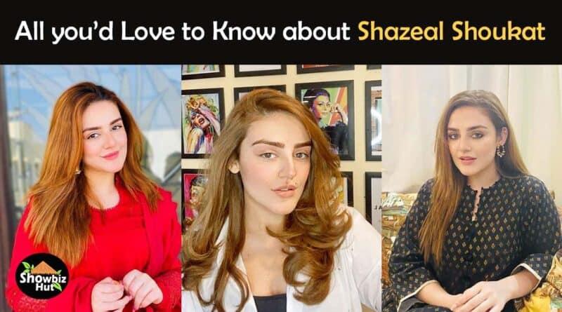 shazeal shoukat biography dramas
