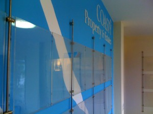 wire display, acrylic holder, a4, signage, display