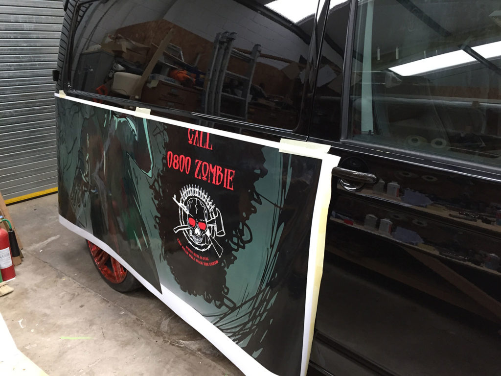 wide, format, printing, graphics, vehicle, wraps, Wales