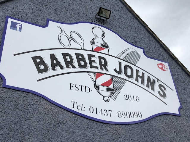 Shop Signage, pembrokeshire, dyfed, Wales