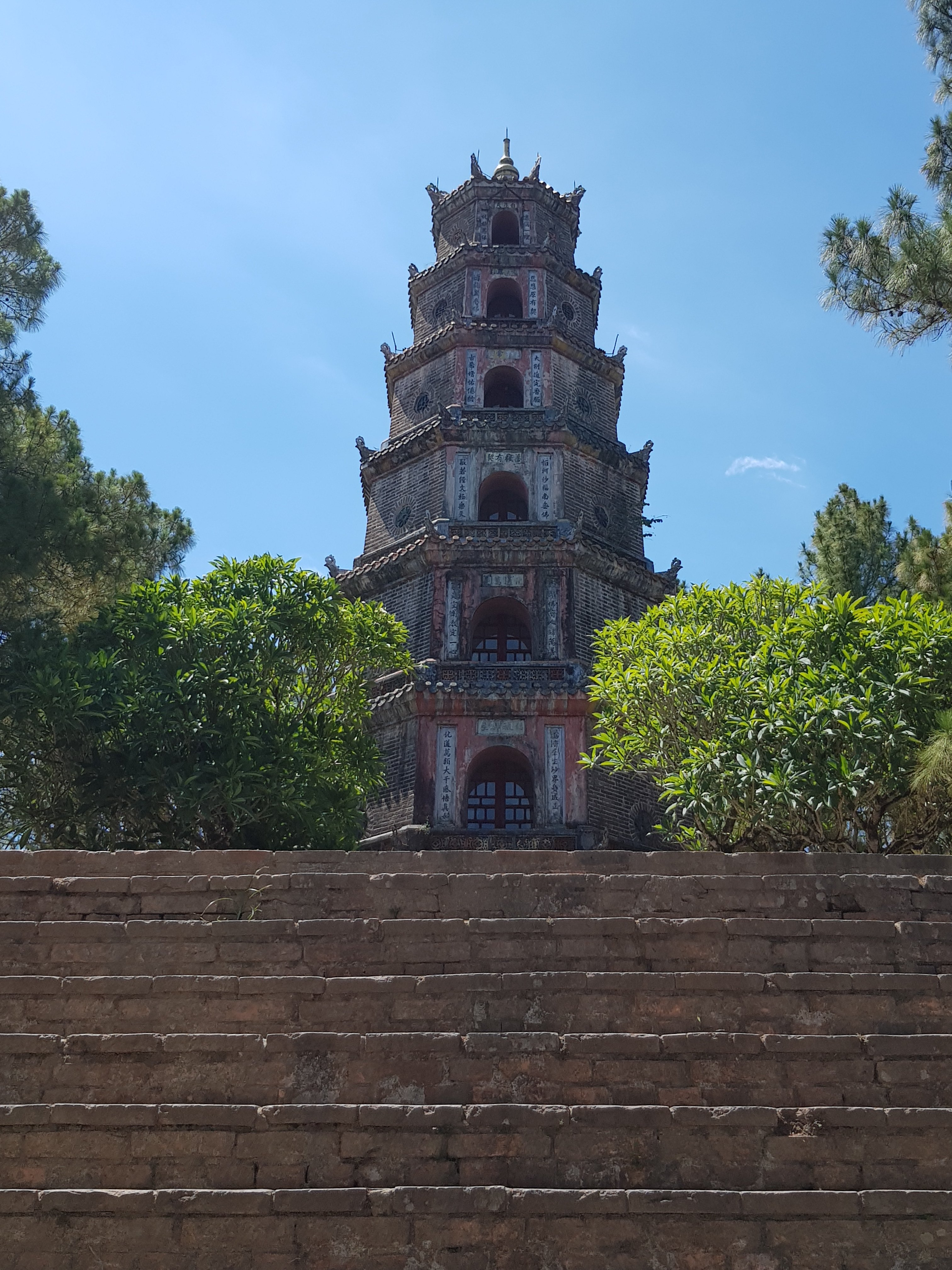 Hue to Da Nang: Thien Mu Pagoda
