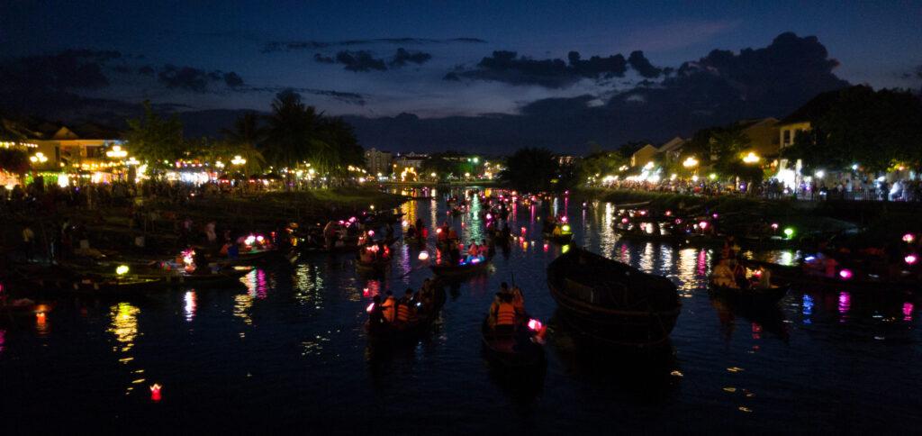 Thu Bon River at Night
