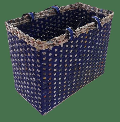 Picnic Basket Carry Bag Handbag Shopping Bag