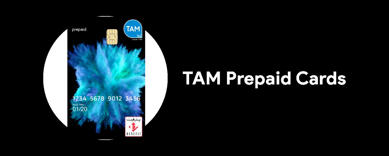 TAM Prepaid Card