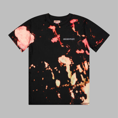 H.O.M Embroidered Tie Dye T-shirt