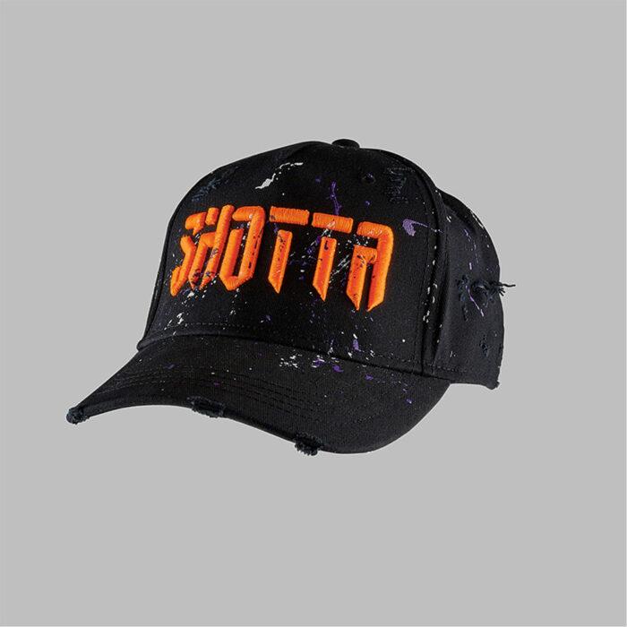 H.O.M Distressed Paint Splash Shotta Cap