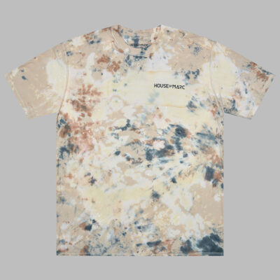 House Of Marc distressed bleached paint splatter t-shirt