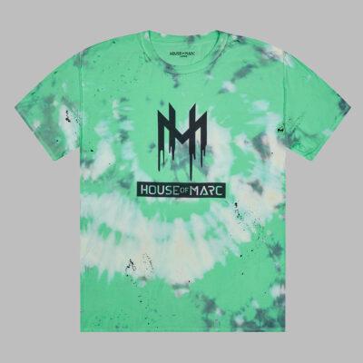 House Of Marc drip paint-splatter tie dye bleached distressed t-shirt