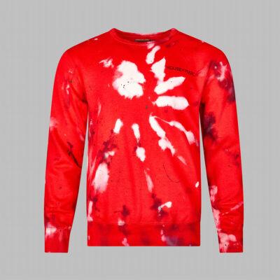 H.O.M Paint bleached paint splatter jumper