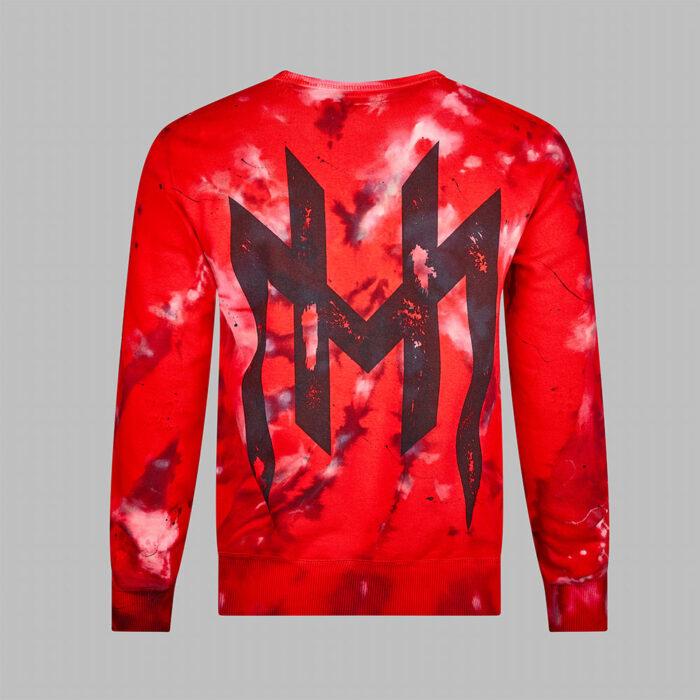 H.O.M. Paint bleached paint splatter jumper