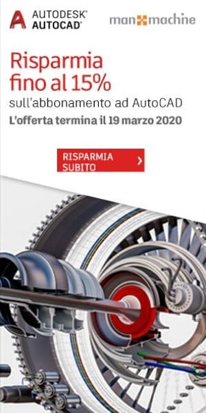 Promozione Nuovo Abbonamento AutoCAD 2020