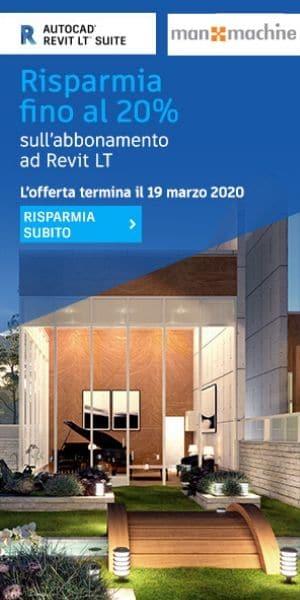 Promozione 20% Nuovi Abbonamenti Revit LT Suite