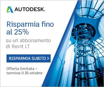 Autodesk Promo Flash 25 Ottobre su Revit LT Suite